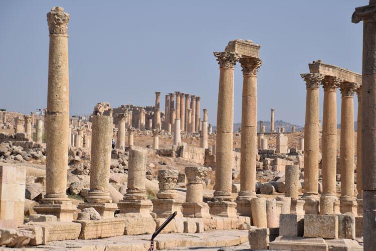 Jerash: Visite d'une cité antique en Jordanie