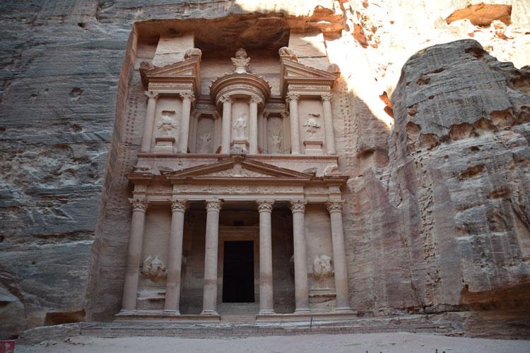 Pétra: La merveille du monde de Jordanie