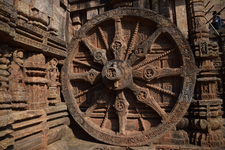 Roue temple du soleil Konarak