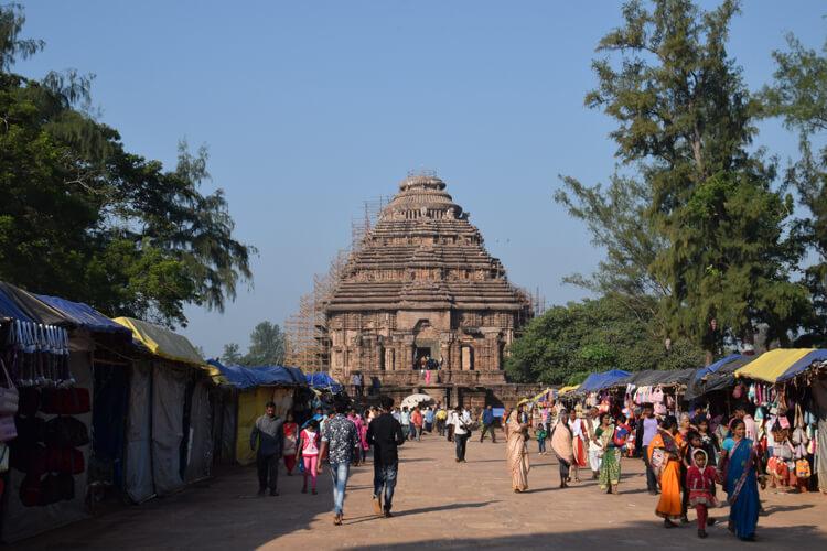 Temple du soleil Konarak