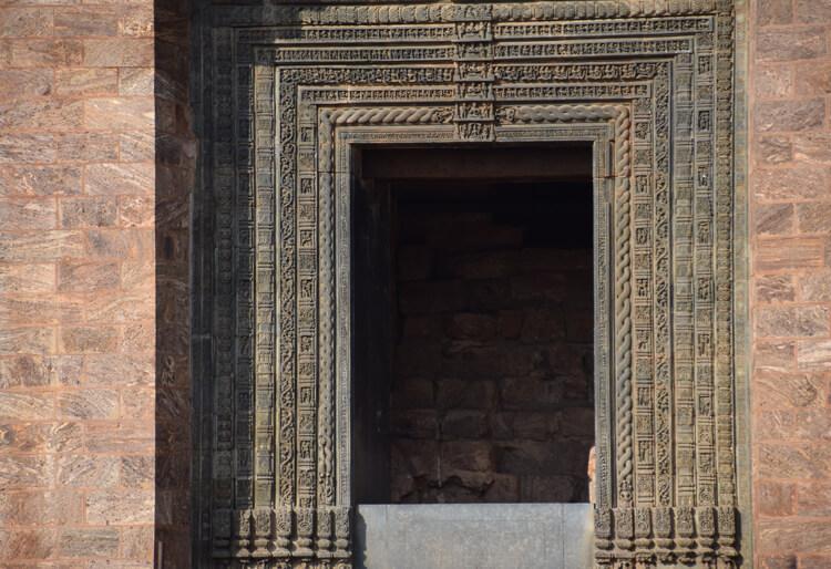 porte temple du soleil Konarak