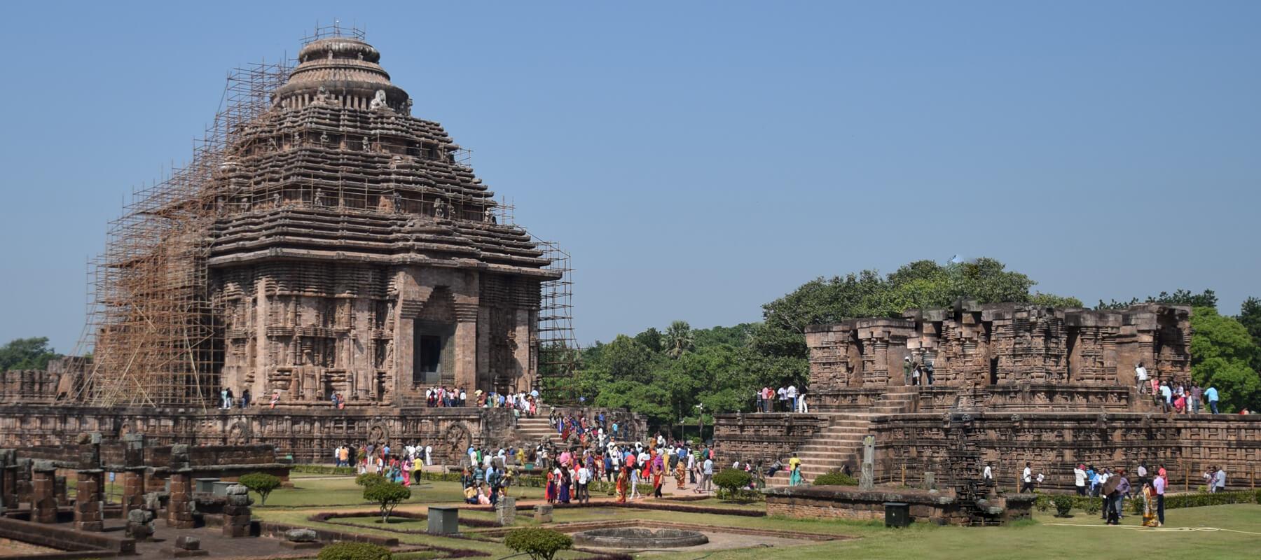 Le Temple du soleil de Konarak