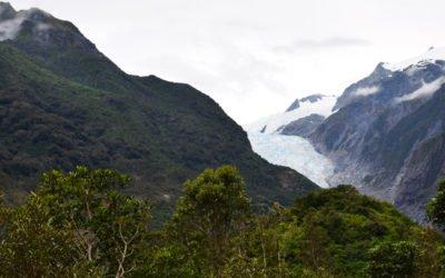 Franz Joseph glacier et Fox glacier: La déception