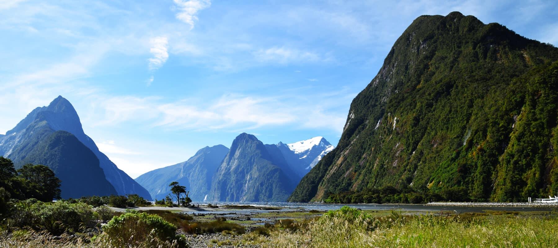 Milford sound: croisière dans le fjord