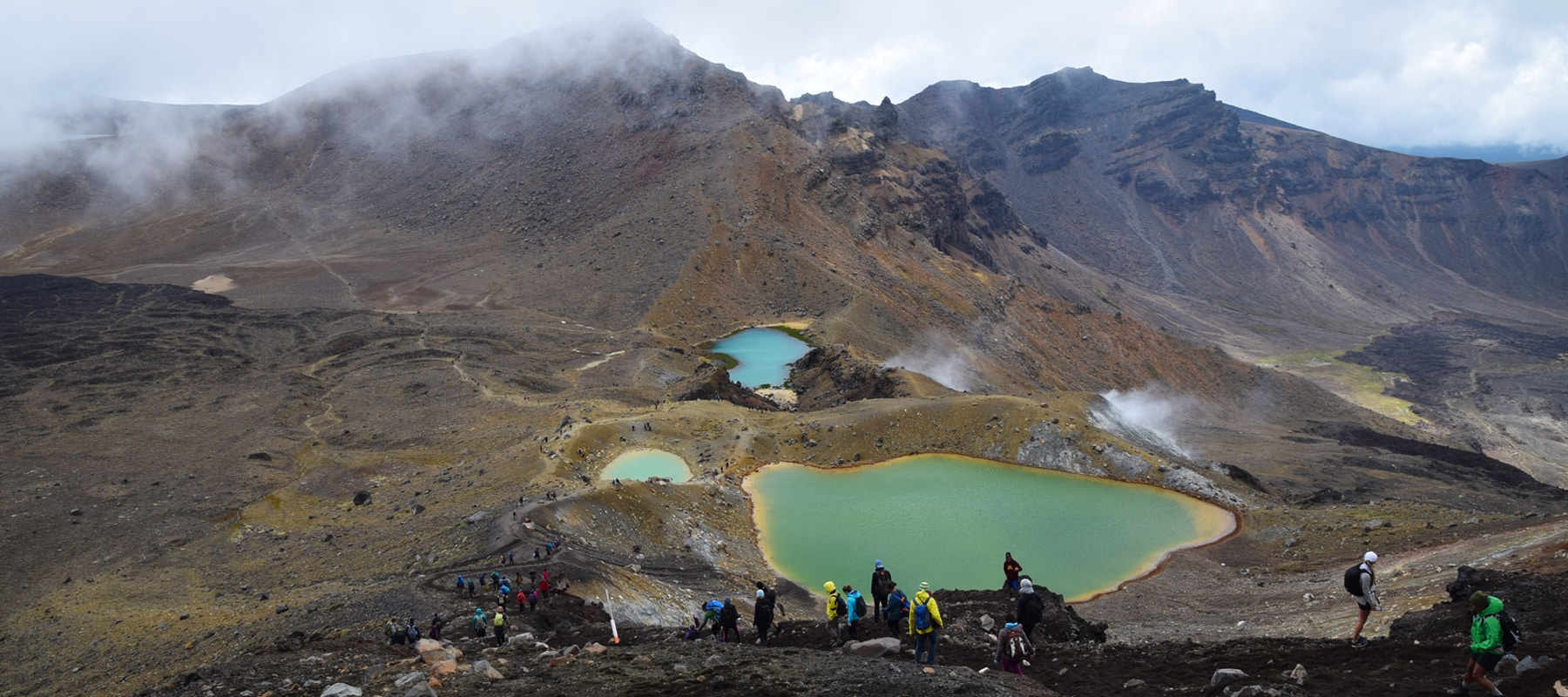 La Tongariro Alpine Crossing: Bien mais pas top
