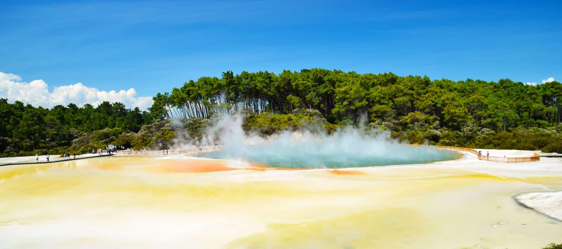 Wai-o-Tapu et Rotorua: vive la géothermie!