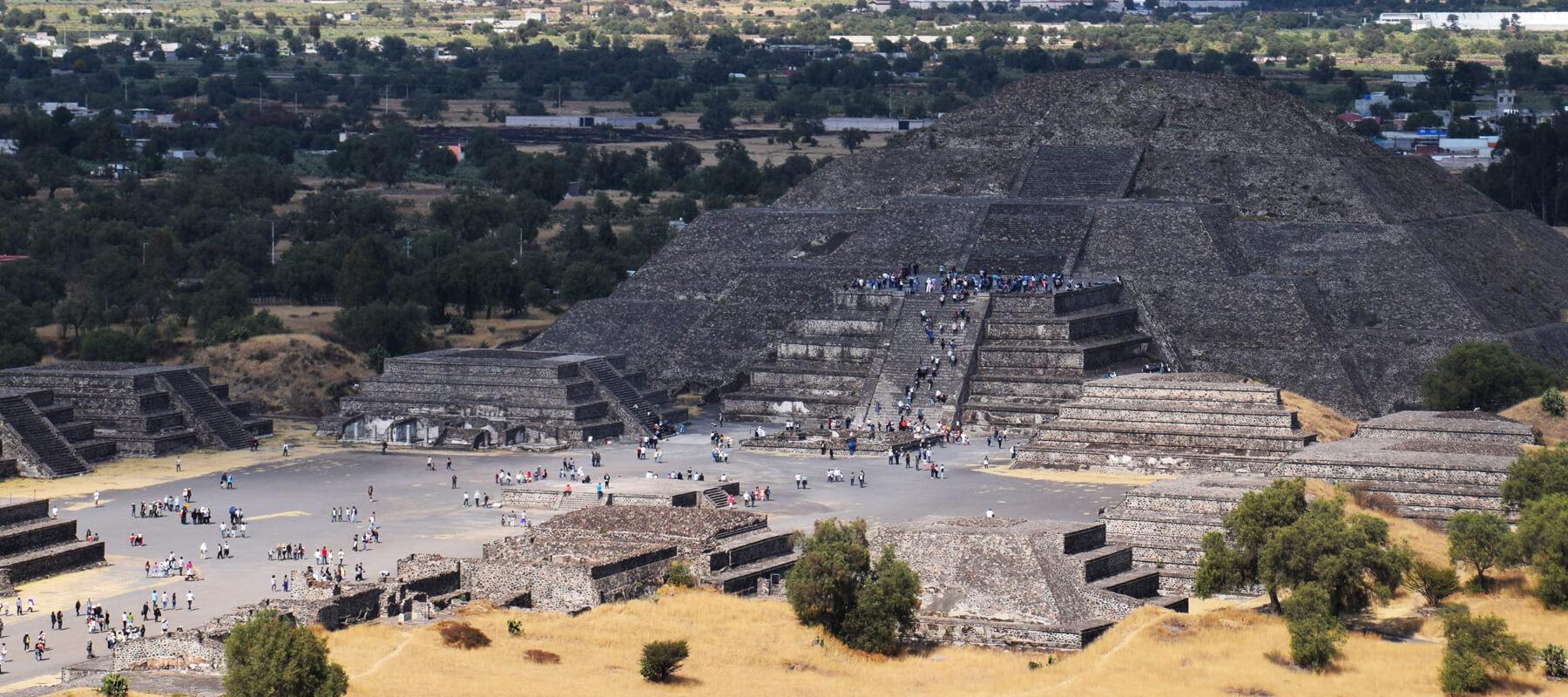 Mexico city et visite de Teotihuacan: Hola Mexico!