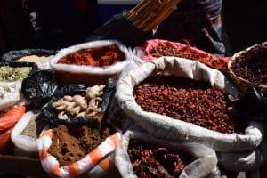 marché Almolonga épices