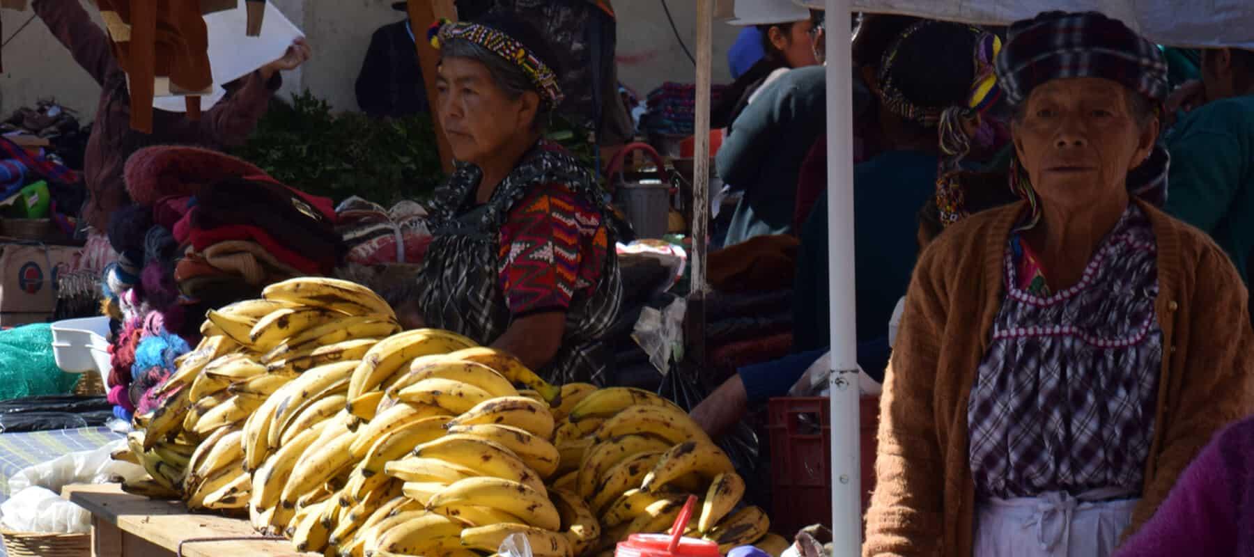 Visite du marché d'Almolonga
