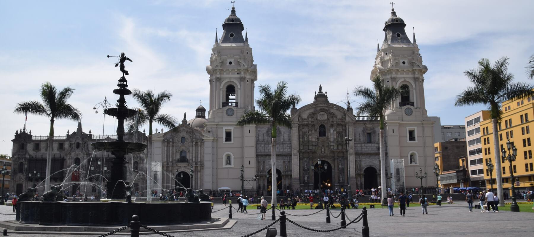 Lima: Mon arrivée au Pérou