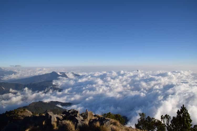 Tajamulco nuage