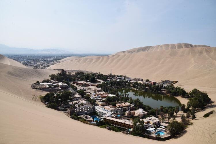 Huacachina désert