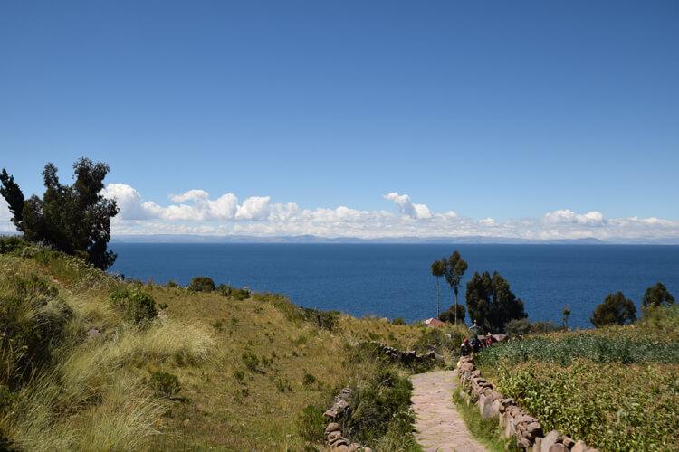 Lac Titicaca isla Taquile
