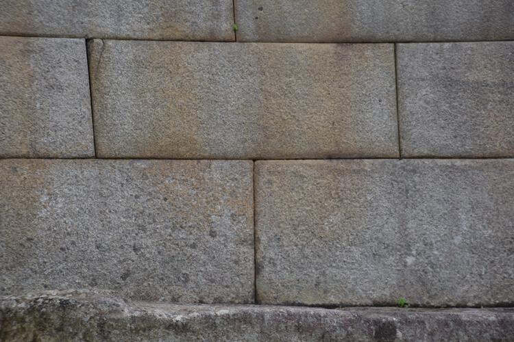 Machu picchu mur