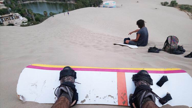 Sand surf