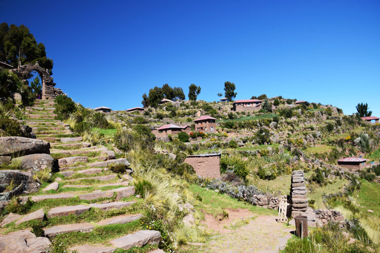 Lac Titicaca Taquile