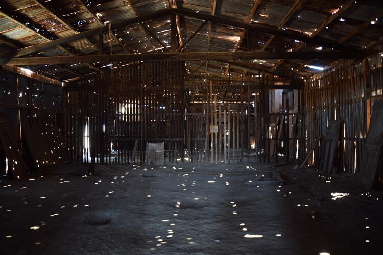 Humberstone hangar