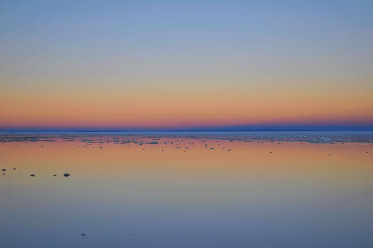 Salar de Uyuni coucher de soleil