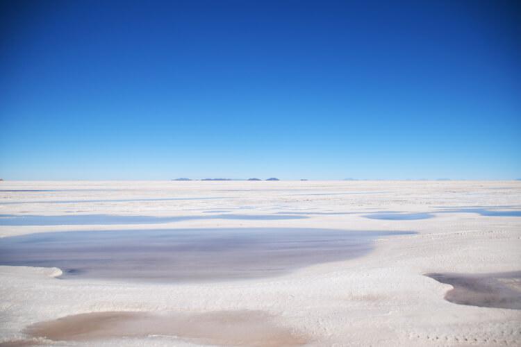 Salar de Uyuni flaques