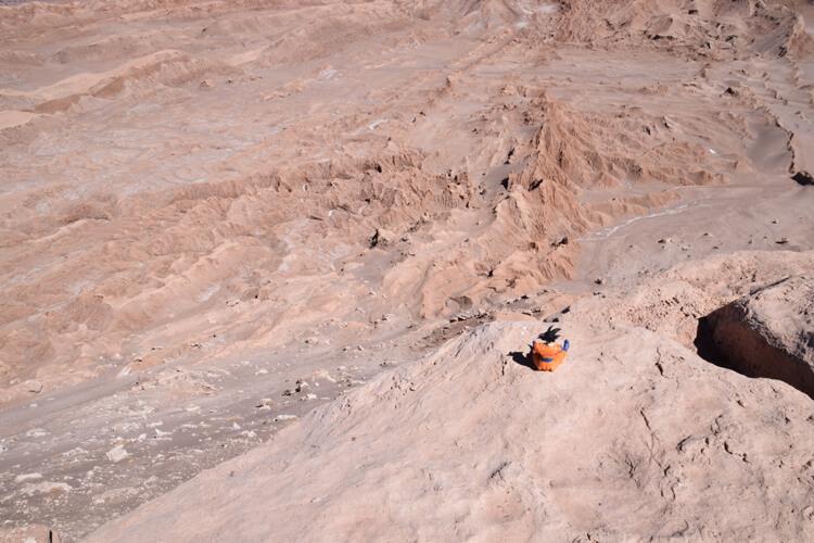 Son Goku désert Atacama