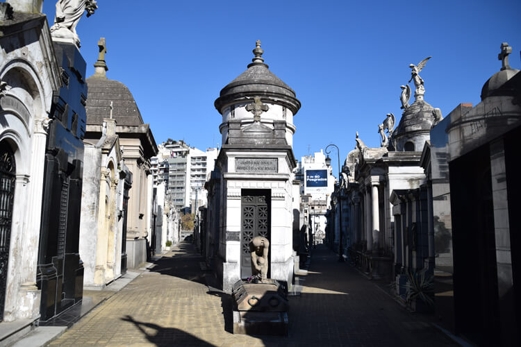 Buenos Aires cimetière recoleta