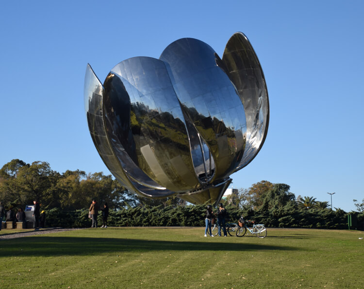 Buenos Aires fleur de métal