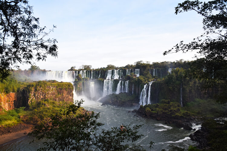 Chutes Iguazu vue