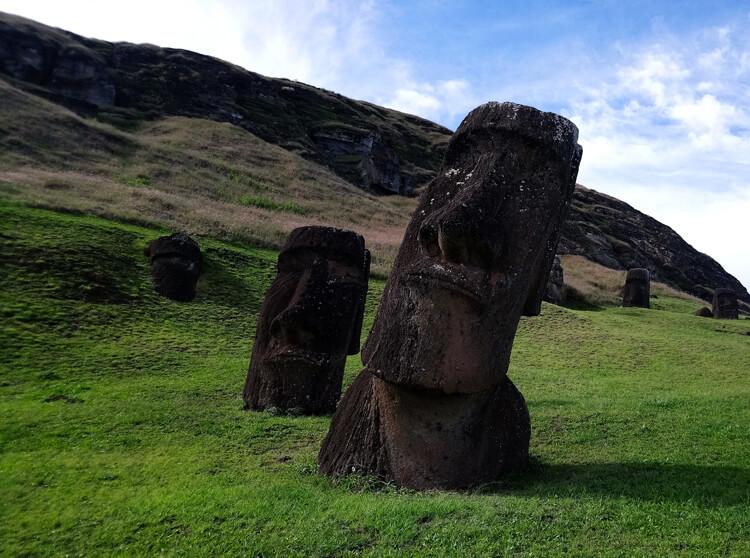 îles de Pà¢ques Moaï
