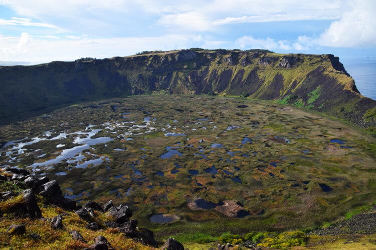 île de Pà¢ques Rano Kau