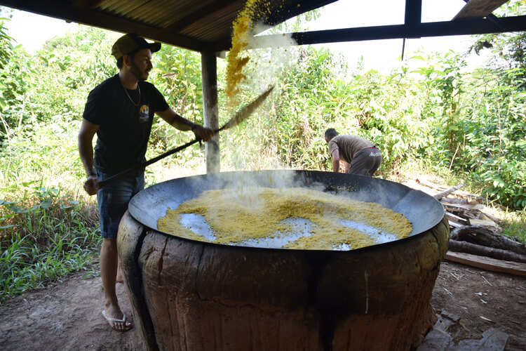 Cuisson manioc