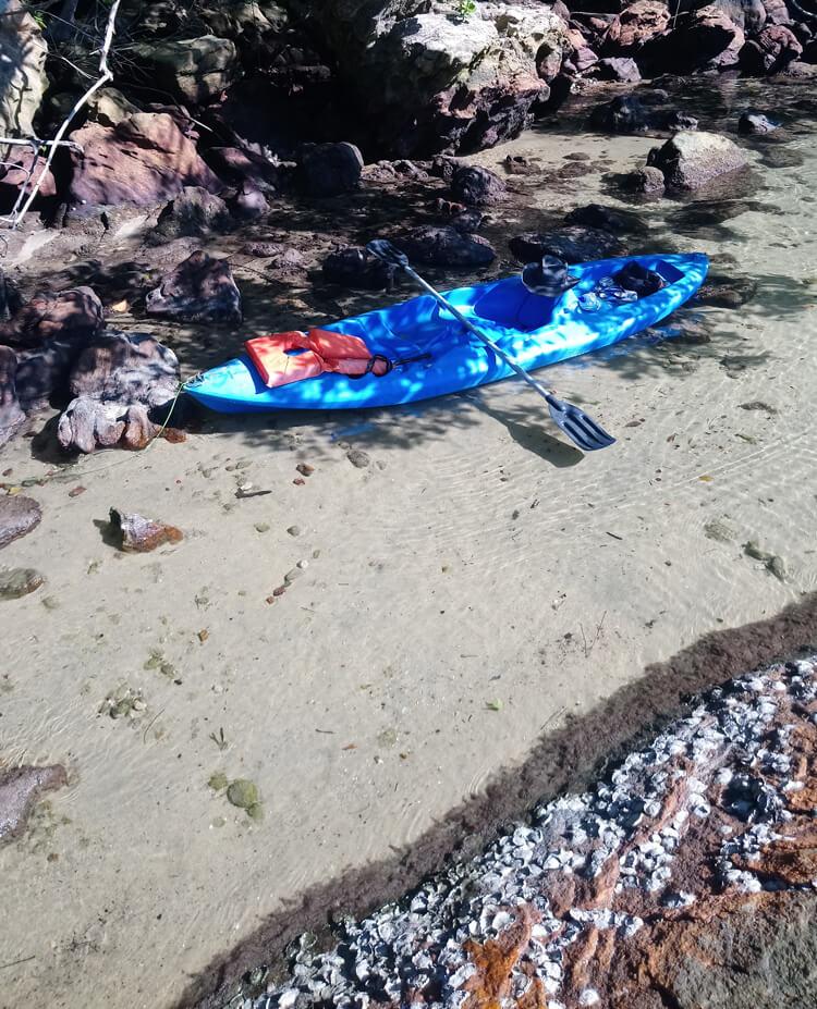 Ilha grande kayak