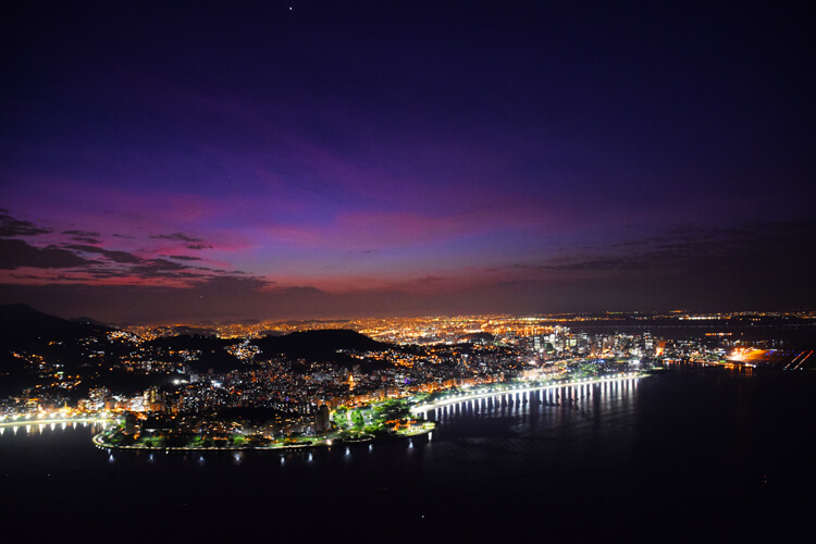 Rio nuit