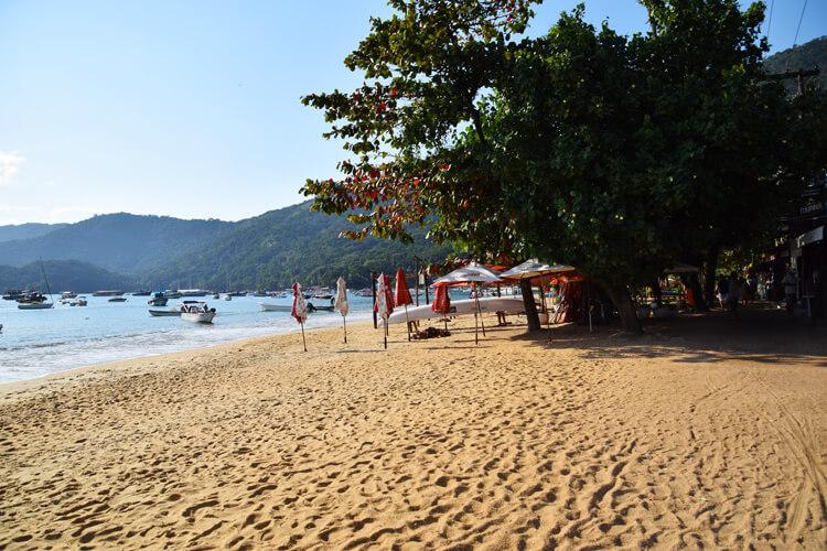 Vila do Abraao plage