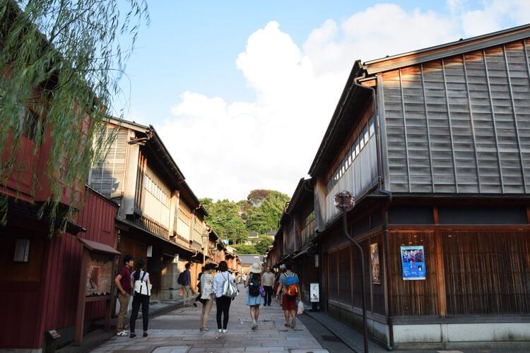 Kanazawa quartier geisha