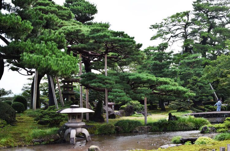 Que faire à Kanazawa jardin