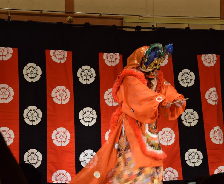 Danse gagaku