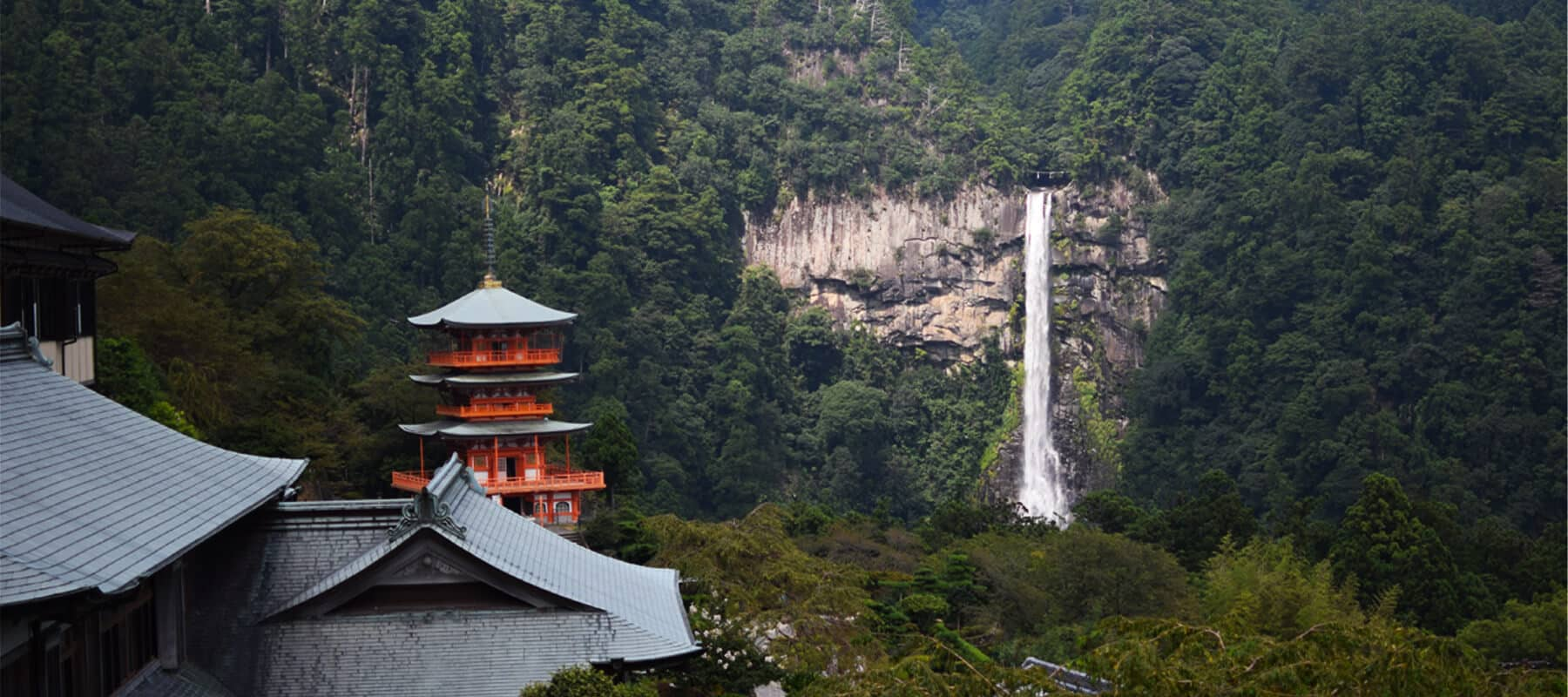 Les Kumano kodo: Hongu-taisha et Nachi-taisha