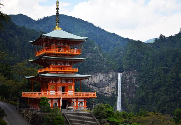 Kumano kodo pagode Seigandôji