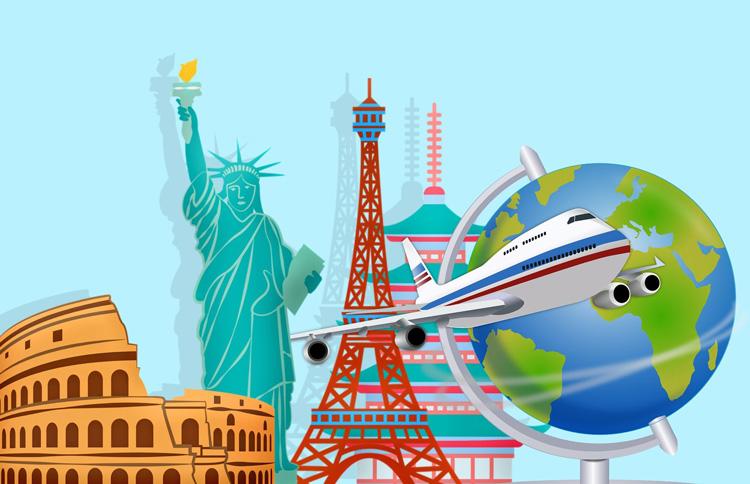itinéraire comment faire le tour du monde ?