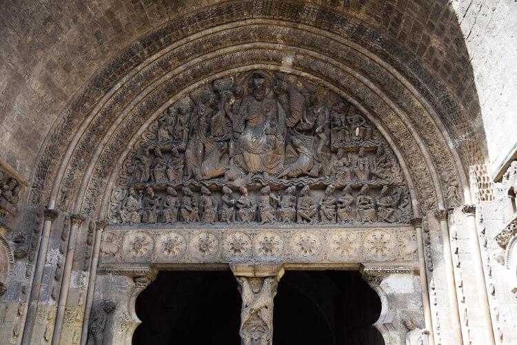 Tympan abbaye Moissac