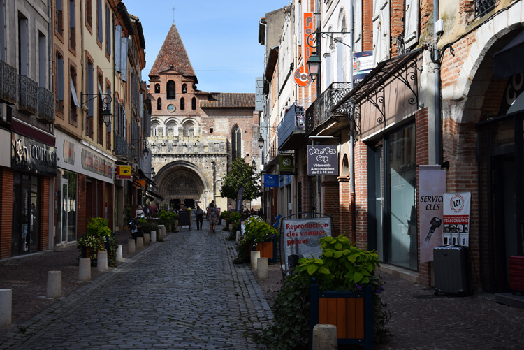 Moissac rue