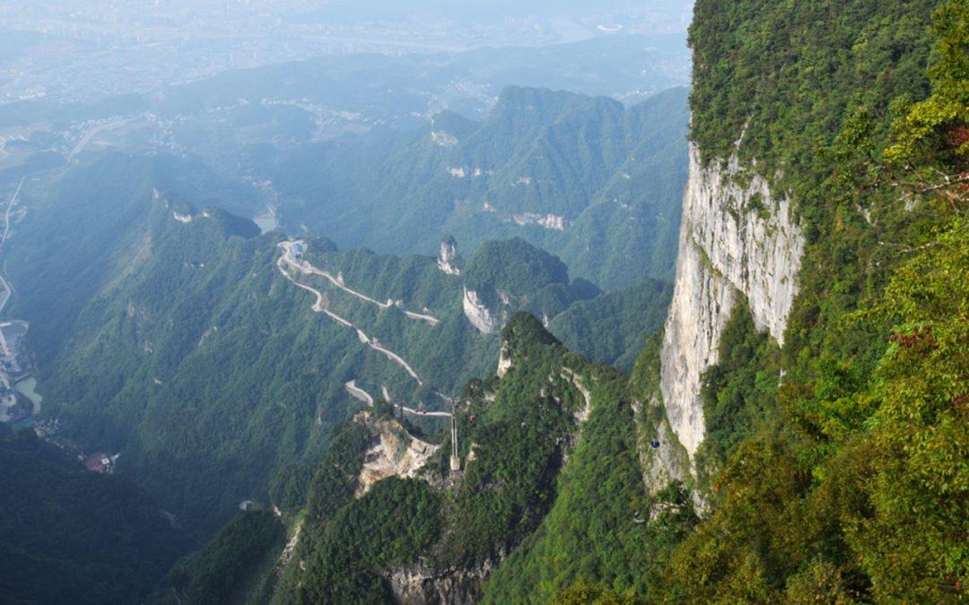 Visite du mont Tianmen: La montagne percée