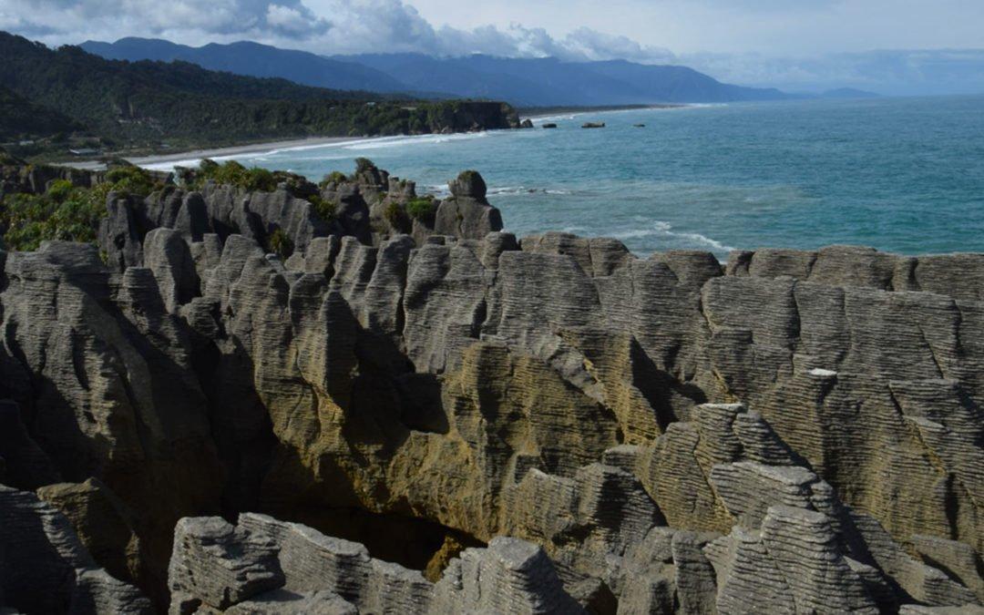 Pancake Rocks Nouvelle Zélande