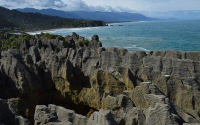 Road trip en Nouvelle Zélande: Pancake rocks et Okarito