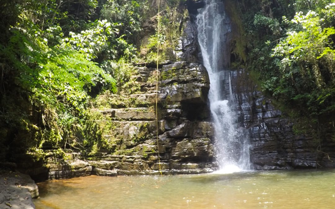 San Gil: Canyoning et baignade
