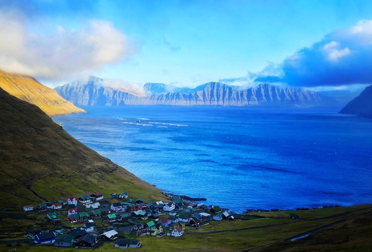 Plus beaux paysages d'Europe Féroé