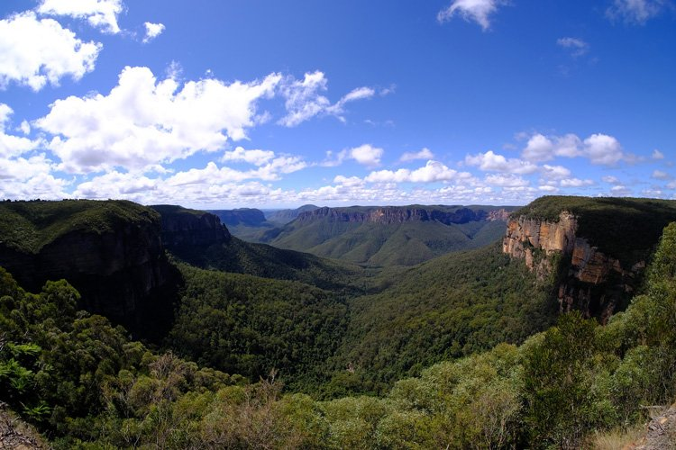 Parc national de blue mountains