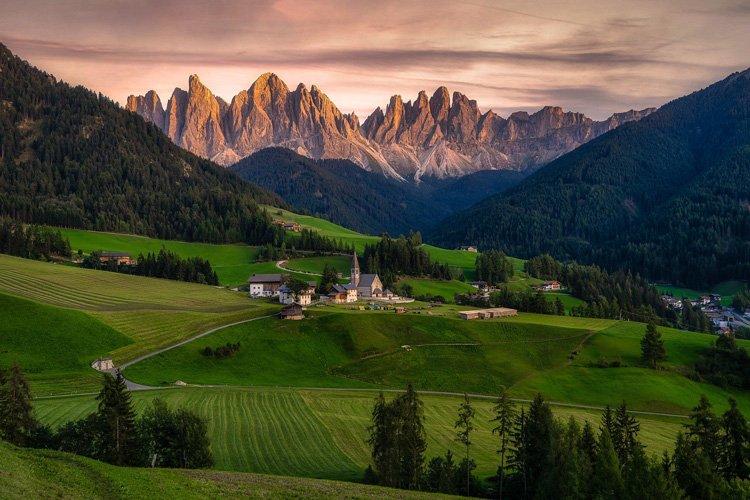 beaux paysages d'Europe Dolomites