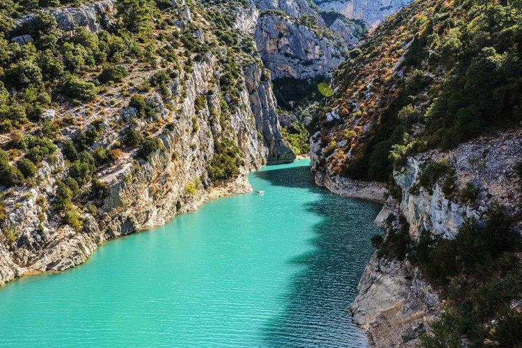 Les gorges du Verdon es plus beaux endroits de France