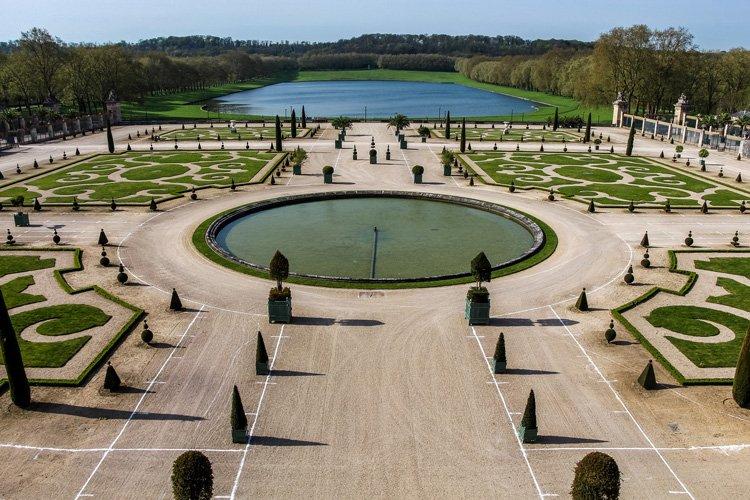 Jardin châteaux de Versailles